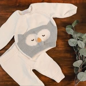 Like new Hanna Anderson sweater set